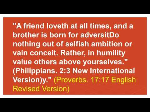 Bible quotes - bible verse about friendship