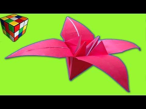 Как сделать цветок для детей из бумаги