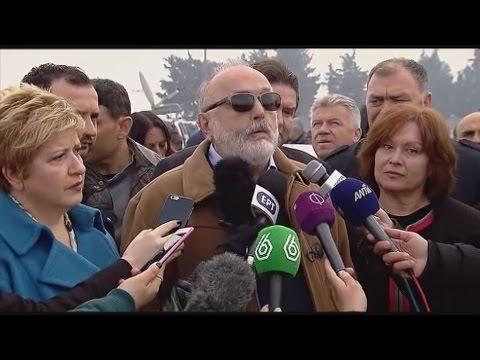 Tην Ειδομένη επισκέφθηκε ο υπουργός Εσωτερικών, Παναγιώτης Κουρουμπλής