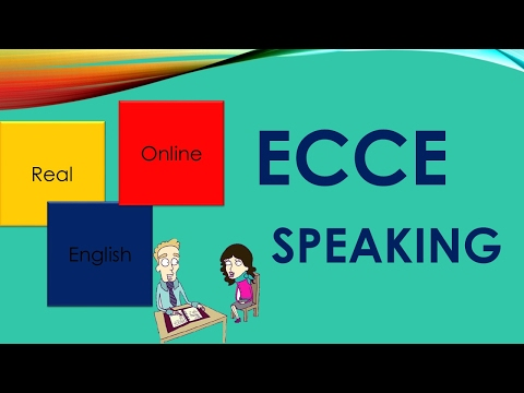 ECCE SPEAKING -MICHIGAN