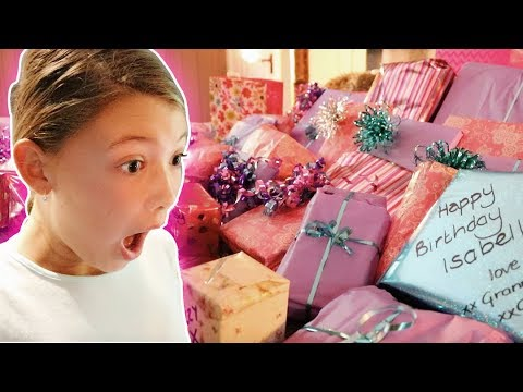 ISABELLE'S 12th BIRTHDAY MORNING OPENING PRESENTS!
