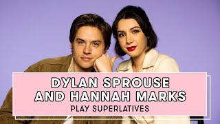 Dylan Sprouse and Hannah Marks Reveal Who Gives the Best Dating Advice and More | Superlatives by Seventeen Magazine