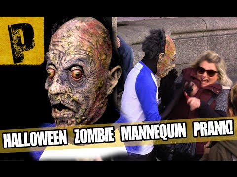 Mannequin - Halloween Zombie Mannequin Scare Prank! TOUR DE PRANK CONTEST: http://goo.gl/Azm4RT Check out Opera Coast: http://goo.gl/B8p8gP Special thanks to: http://Eurail.com for the first class Eurail.