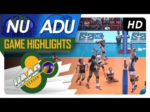 UAAP 80 WV: NU vs. AdU | Game Highlights | March 21, 2018 (видео)