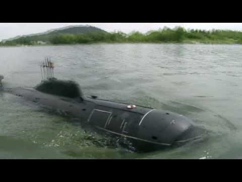 подводная лодка 971 видео