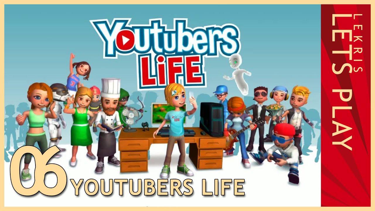Arbeit,Arbeit,Arbeit und ein neuer Mitarbeiter - Let's Play Youtubers Life #06 [Deutsch/German]