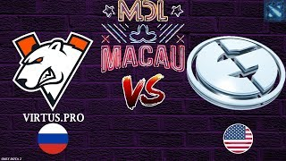 ВП против ЖЕСТКИХ ЕГ! | VP vs VEG (BO1) | MDL Macau 2019