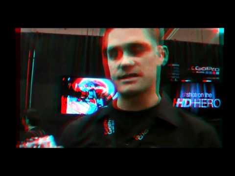 GoPro Wearable HD Sports Camera Goes 3D at SEMA