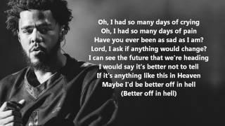 Jermaine Interlude (Lyrics) - J. Cole