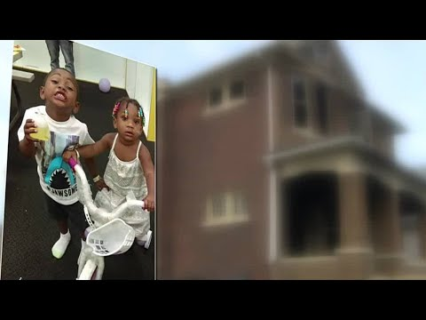 Children injured after robbers set Detroit home on fire