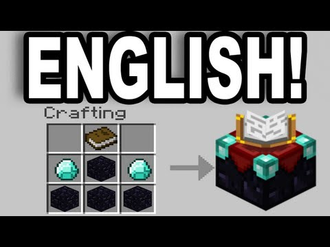 Minecraft: How To Change The Enchantment Table Language To English (Pc / Mac) -HD