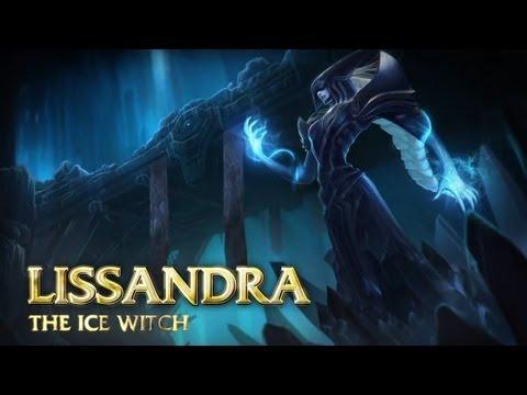 [LoL] Обзор чемпиона - Лиссандра, Ледяная ведьма