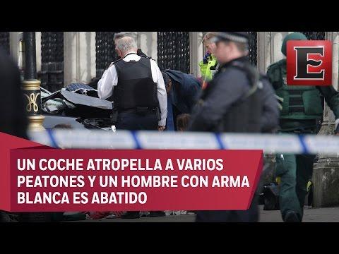 Un doble ataque cerca del Parlamento británico deja varios heridos