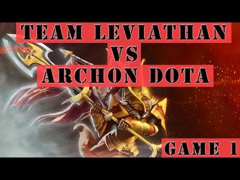 Dota 2 Gameplay - Team Leviathan VS Archon Dota (SLTV Star Series 13 Game 1)
