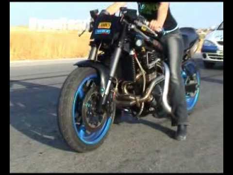 Cbx turbo Hayabusa turbo and more crazy bikes (видео)