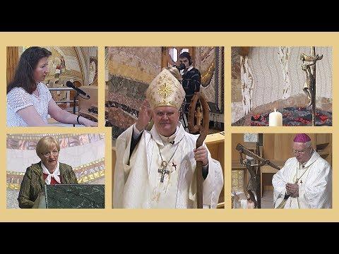 2020-04-12 2020-04-12 Püspöki Húsvétvasárnapi szentmise külföldi magyarokhoz a Gazdagréti Plébánián