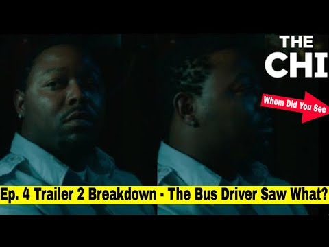 The Chi Season 3 Episode 4 Trailer 2 - When Will They Question The Damn Bus Driver? In Episode 4?