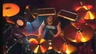 Nicko McBrain Drum Solo Live 1987