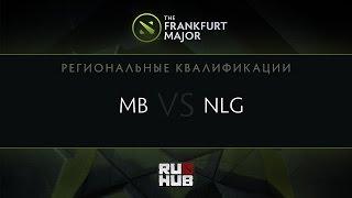 NLG vs mBusiness, game 2