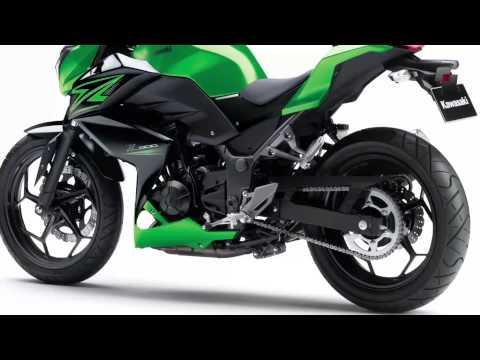 Vídeos de la Kawasaki Z300 de 2015
