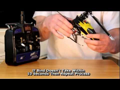 How To Bind Transmitter To RC Helicopter. Blade