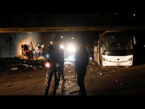 Έκρηξη σε τουριστικό λεωφορείο στην Αίγυπτο – Τουλάχιστον δύο νεκροί…