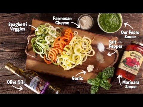 Pesto Marinara Veggie Noodles