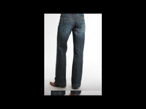 Stetson Womens 214 Fit City Dark Indigo Trouser Jeans Med Wash 8 R