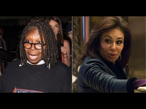 AFTER EXPLODING ON TV WHOOPI CHASED JUDGE JEANINE BACKSTAGE!
