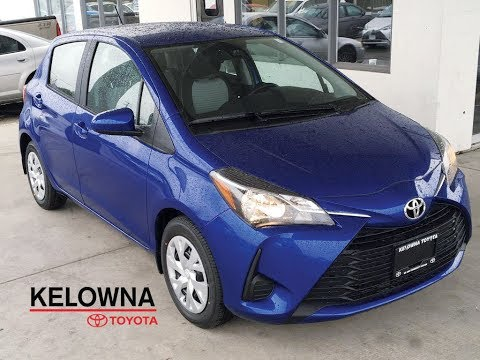 New 2018 Toyota Yaris Hatchback LE I Convenience Package