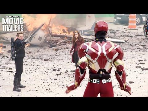 Captain America: Civil War   DVD/Blu-Ray Release Bonus Features Compilation