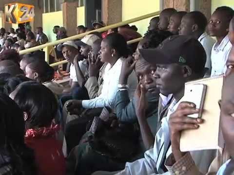 Over 50,000 Kenyans respond to offer for jobs at Kasarani stadium