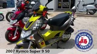 5. 2007 Kymco Super 9 50 yellow