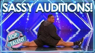Video Sassiest Auditions From Got Talent, X Factor & Idols WORLDWIDE! | Top Talent MP3, 3GP, MP4, WEBM, AVI, FLV Juli 2018