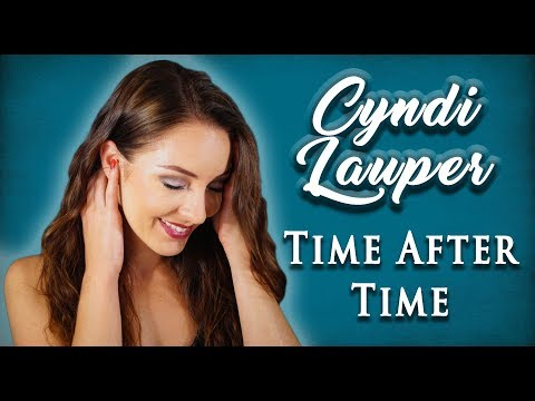 """Cyndi Lauper  """"Time After Time"""" Cover by Minniva Børresen"""