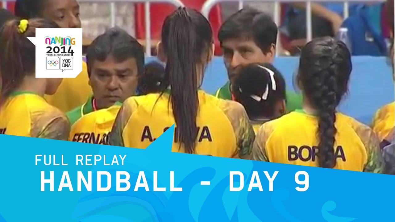 Handball – Bronze Medal Matches Women's & Men's | Full Replay | Nanjing 2014 Youth Olympic Games