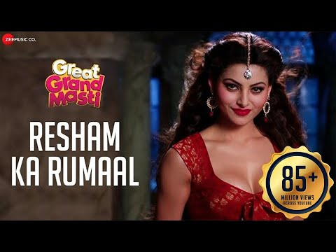 Resham Ka Rumaal - Full Video| Great Grand Masti | Urvashi Rautela, Riteish D, Vivek O, Aftab S