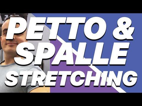 Stretching: Pettorali & Spalle