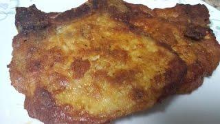 Pork chops (baked)     English Version