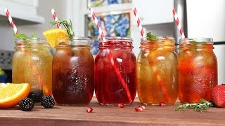 5 Refreshing Iced Tea Recipes by The Domestic Geek