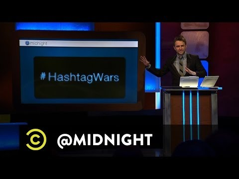 Chris Hardwick @midnight - #HashtagWars - #BadCoffeeFlavors (Comedy Central)