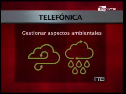 Telefónica comprometida con el ambiente según análisis de información climática Corporación CDP