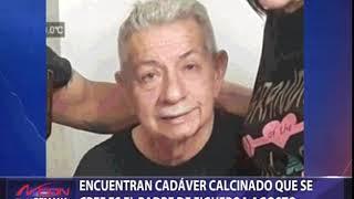 Encuentran cadáver calcinado que se cree es del padre de Figueroa Agosto
