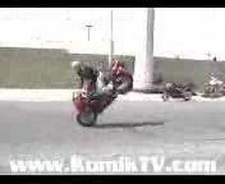 endo on the bike(comedy)