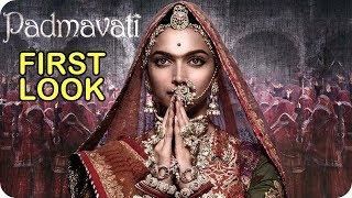 Video Padmavati First Look Poster Deepika Padukone Rani Padmini Avatar Ranveer Singh and Shahid Kapoor MP3, 3GP, MP4, WEBM, AVI, FLV Oktober 2017