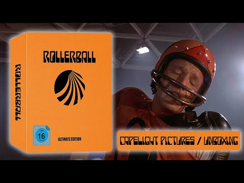 Rollerball (1975) - 5-Disc Ultimate Edition ( Capelight Pictures ) UNBOXING