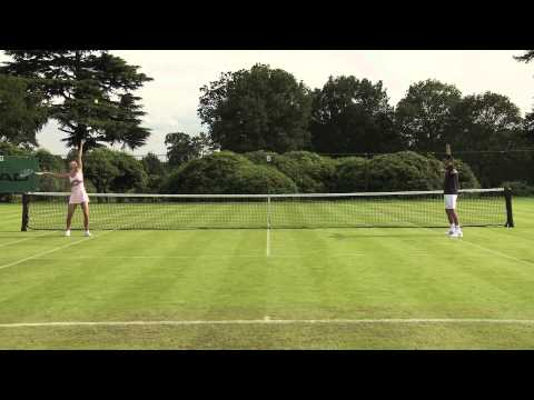 Djokovic vs Sharapova Sharpshooting