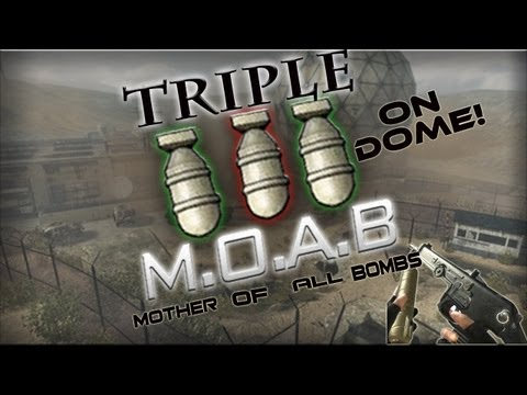 pp90 - SUBSCRIBE! - http://bit.ly/XKiqlZ Triple MOAB w/PP90 - Can we get 25k Likes? My twitter- http://www.twitter.com/greengoblinhd Song - E- Dubble Changed my Min...