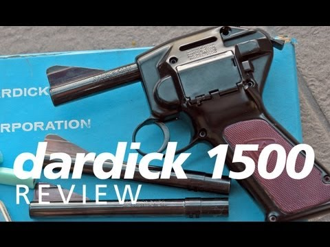 Review: the Dardick Model 1500 magazine-fed revolver