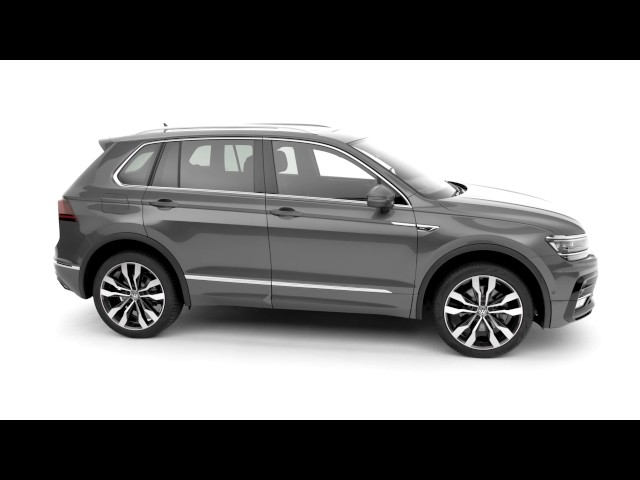 A look at the Volkswagen Tiguan